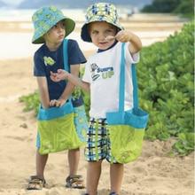 Детские Игрушки Пляжа Сетки Сумка Для Хранения Детские Игрушки Пляжа одежда Мешок Полотенце Детские Игрушки Коллекция Пеленки Складной Висит Большой объем