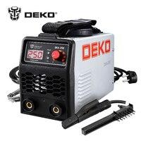 DEKO DKA 250 250A 6.8KVA IP21S инвертор Arc Электрический сварочный аппарат MMA сварки для сварки работы и электрические рабочие