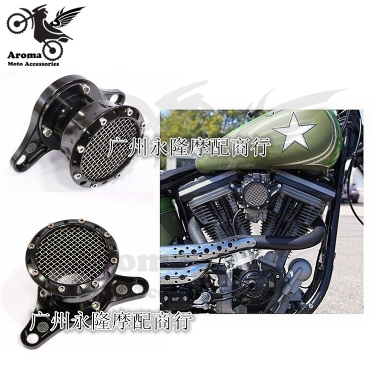 top quality brand black grid model metal motorbike parts moto air cleaner for XL883 1200 48 72 for harley motorcycle air filter air filter fits zenoah model eb700 new air cleaner cheap leaf blower parts
