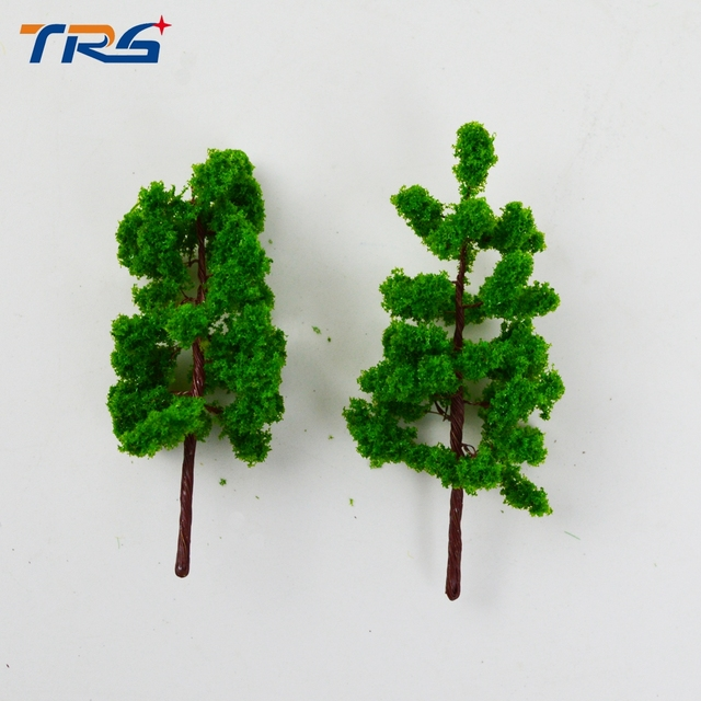 7CM DIY sand table model building materials tree green wire model tree A landscape tree model specifications