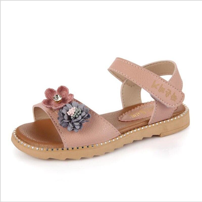 Meisjes sandalen 2018 nieuwe grote vissen mond prinses schoenen - Kinderschoenen - Foto 4
