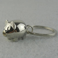 Необычные 1 шт. Прекрасный маленькая свинья брелок для ключей милый подарок кольцо Шарм украшения 91I7