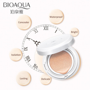 BIOAOUA Sunscreen Air Cushion BB CC Cream Concealer Moisturizing Foundation Whitening Makeup Bare For Face Beauty Makeup care