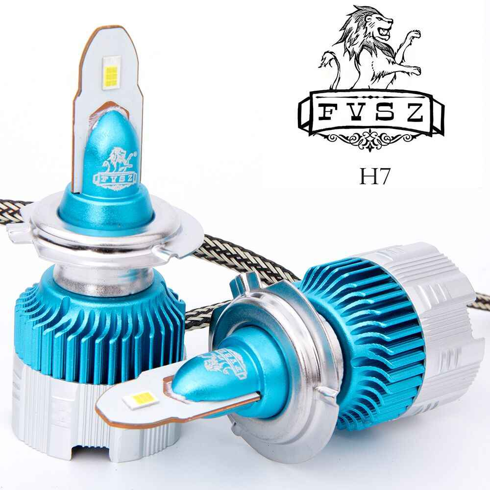 2 Pcs mini H7 LED Car Headlight LED H4 H1 H11 H3 H8 H9 880 9006 9005 50W 6000LM 6500K 12V 24V Auto Headlamp COB Fog Light Bulb
