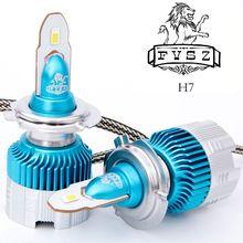 2 Pcs mini H7 LED Car Headlight LED H4 H1 H11 H3 H8 H9 880 9006 9005 50W 6000LM 6500K 12V 24V Auto Headlamp COB Fog Light Bulb цена