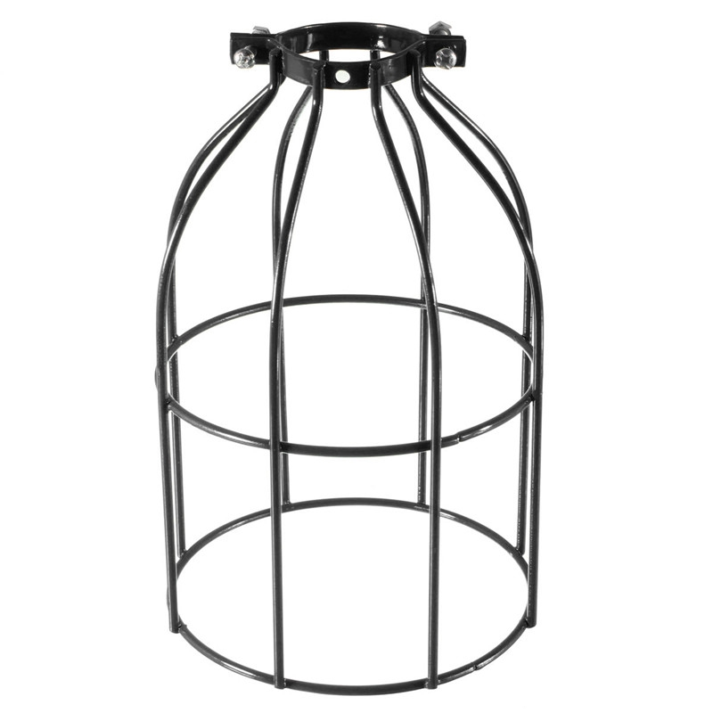 The Best Quality Vintage Steel Bulb Guard Clamp On Metal Lamp Cage