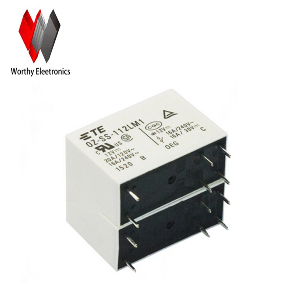 wholesale 10pcs/lot relay <font><b>OZ</b></font>-<font><b>SS</b></font>-<font><b>112LM1</b></font> image