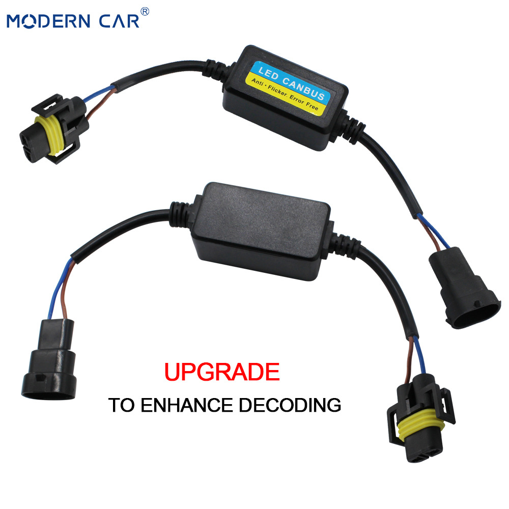 H15 LED Bulb OBC Warning Error Canceller Flickering Decoder Load Car Resistor x1