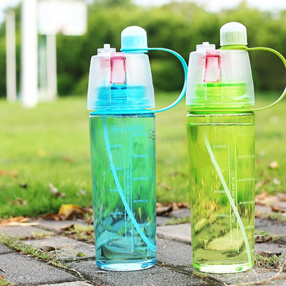 BPA Free Healthy 600ml Outdoor Sport Travel Water Drink Bottle Portable Leak Proof bottle Spray Bottle