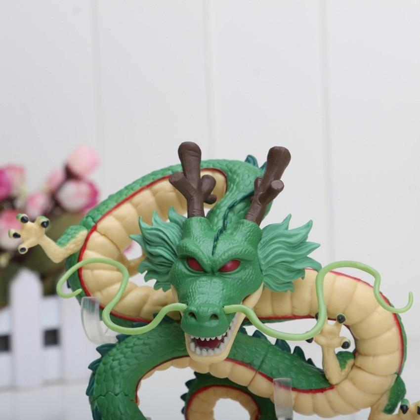 Dragon Ball Z Shenron Dragon 15cm plus 7pcs Balls 3.5cm Set 10