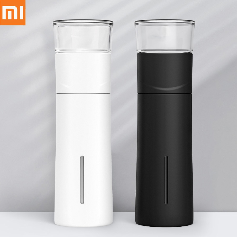 Xiaomi Mijia PINZTEA 300ml Portable Water Mug Thermal Cup Tea Infuser Bottle Container Warm Keeping Cup Outdoor Travel Mugs H30