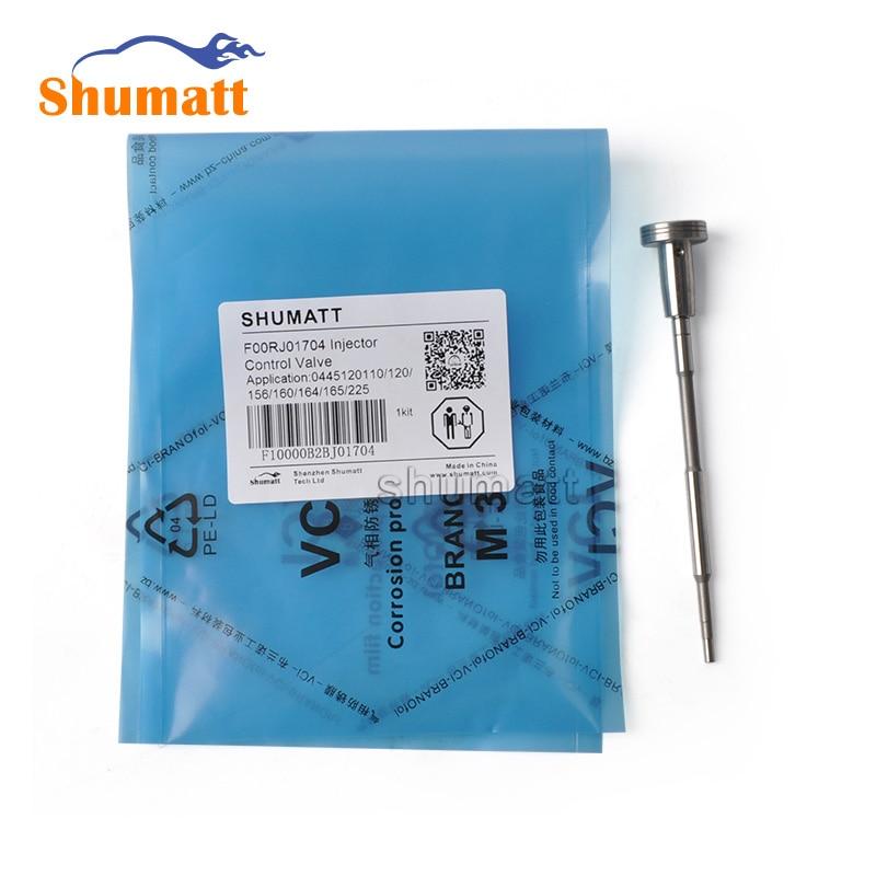 4pcs Fuel Injector Common Rail Control Valve F00RJ01704 FooRJ01704 F 00R J01 704