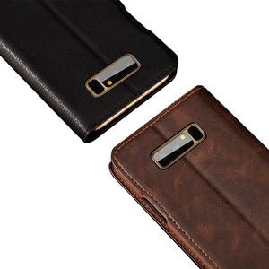 Image 5 - Mulubo Funda ultrafina para teléfono Samsung Galaxy S9 Plus S8 +, Funda de piel auténtica S8 Plus, con tarjetero de lujo
