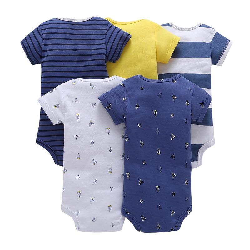 Topkwaliteit Baby Boy Kleding Set Zomer Korte Mouw O-hals Katoenen - Babykleding - Foto 2