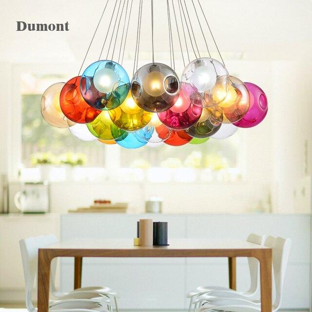 Nordic anhänger glas lampe lampen für wohnzimmer moderne beleuchtung ...