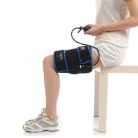 Health Care Ice Bag For Sports Injuries Thigh Wrap With Ice Cold Gel Pack Inflatable Compression