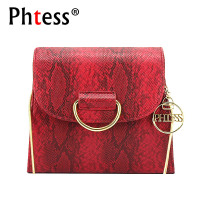 PHTESS Serpentine Shoulder Bag Famous Brand Female Messenger Bags Feminina Bolsa Luxury Chain Crossbody Bag Sac