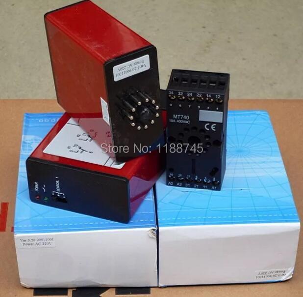 Gate And Garage Door Loop Detector 220V AC For Sliding Gate Operator
