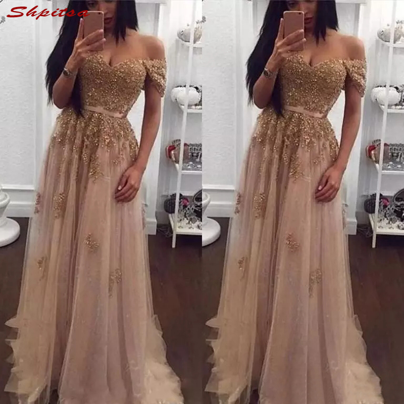 Champagne Mother Of The Bride Dresses For Weddings Prom Evening Groom Godmother Dinner Dresses 2018