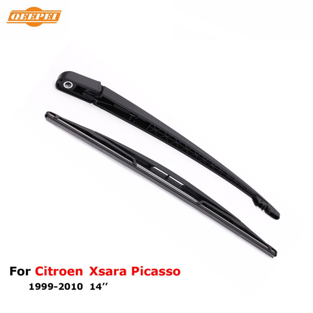 QEEPEI Professional Rear Wiper Blades And Arm For Citroen