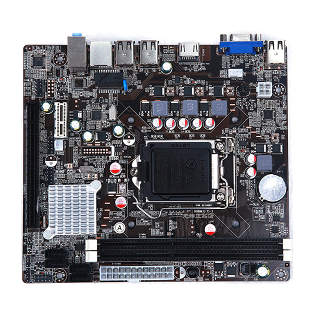 LGA 1155 Motherboard Stable For Intel H61 Socket DDR3 Memory LGA1155 Replacement Computer Accessories Main Board