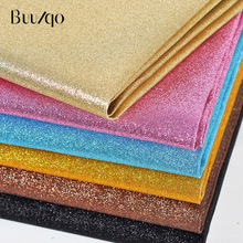 buulqo New arrival 50cm*138m Shining PU leather Fabric , Faux Leather Fabric for Sewing DIY bag , shoes, dress material,