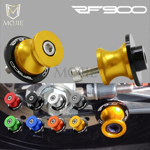For Suzuki RF900/R RF900 RF900R RF 900R RF 900 R 1994-1997 1995 1996 8mm Motorcycle CNC Swingarm Spools Slider Swingarm Stand(China)