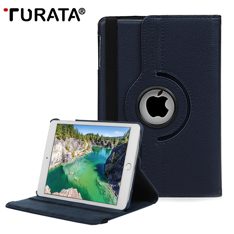 TURATA Cover For Apple iPad Pro 10.5 inch Case PU Leather Flip Stand 360 Rotating Luxury Tablet Case For New iPad Pro 10.5 2017