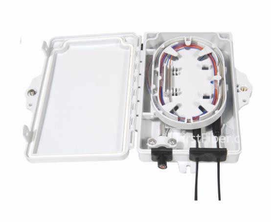 FirstFiber ODN FTTH 2 kerne faser Termination Box 2 ports 2 kanäle faser buchse Splitter Box indoor outdoor FF-FTB-2-A