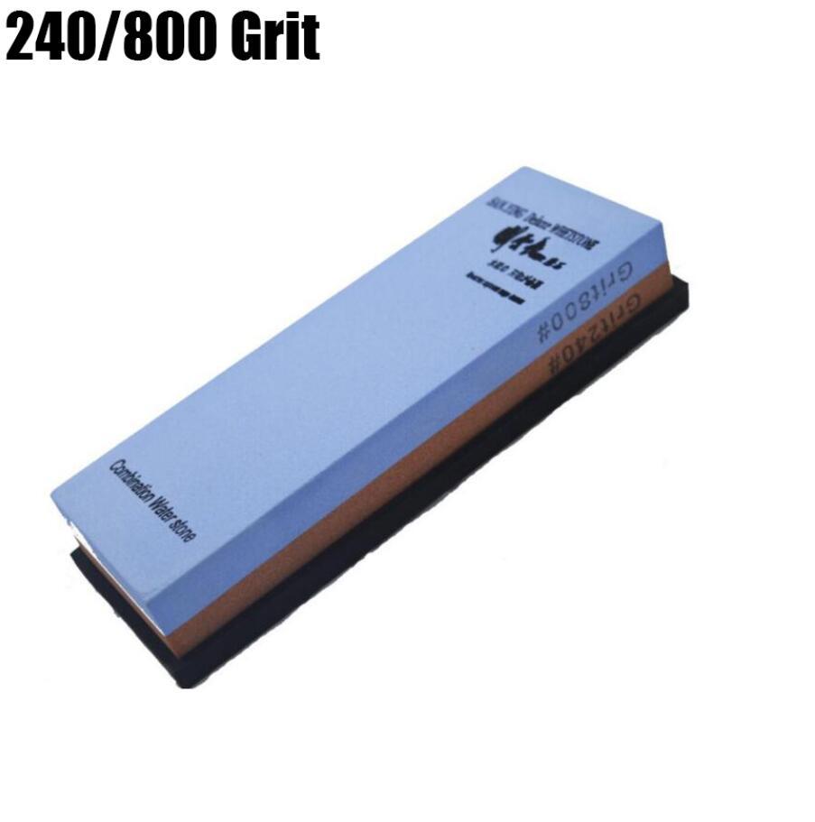 Sanying Kitchen Knife Portable sharpener water whetstone corundum whetstone 7x2x1 inches 240 800 Grit
