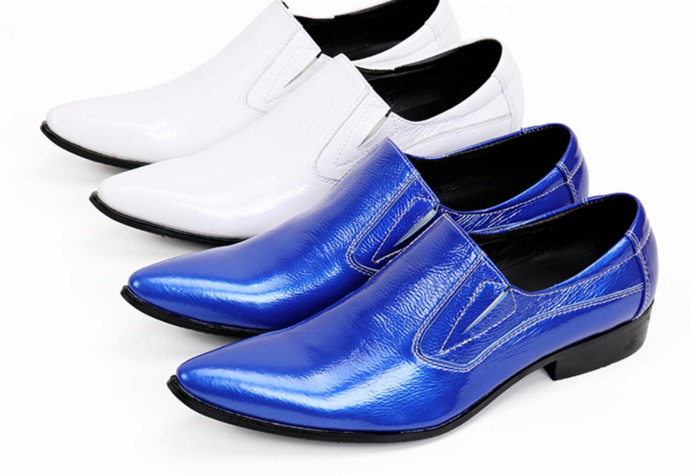 italian dress business oxfords Fashion formal blue men dress shoes genuine leather luxury wedding male shoes white suit shoes top brand tassel men shoes dress black italian fashion wedding male shoes 2018 new genuine leather business man formal footwear