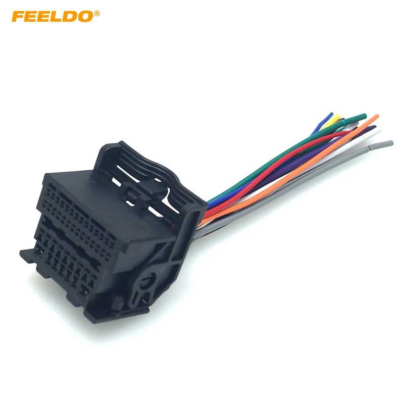 [QMVU_8575]  FEELDO Car Stereo Audio Wiring Harness Adapter For Chevrolet Cruze Malibu  Aveo ISO Radio CD/DVD Installation Cable #HQ6077| | - AliExpress | Chevrolet Audio Wiring |  | AliExpress