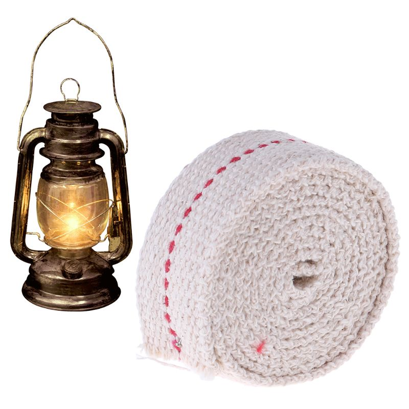 Cotton Core Tool Oil Lamp Wick Barn Lantern Flat Lampwick Kerosene Lantern