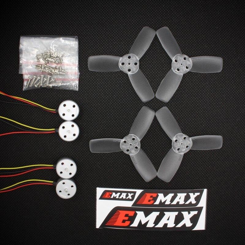 RS1104 5250KV moteur Brushless + T2345 3 hélices CW CCW accessoires pour EMAX 130 RC Drone de course sans balai Q20400