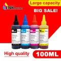 Tinta de tinte para impresoras EPSON Premium 100 ML 4 Color Ink BK C M Y para Epson Stylus TX106 TX109 TX117 TX119 C51 C91 CX4300 impresora