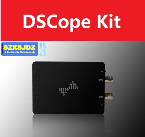 DSCope C20 C20P USB Portable USB Oscilloscope 50M Bandwidth DSLogic Kit Dual Channel 200M Sampling