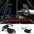 Interior del coche de Dirección Paddle Shift Cubre Para Volkswagen VW Tiguan Scirocco Golf 6 GTI MK6 Jetta Accesorios