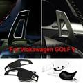 Interior do carro de Direcção Paddle Shift Capas Para Volkswagen VW Tiguan Scirocco Jetta MK6 Golf GTI 6 Acessórios