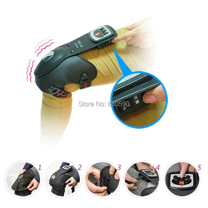 цены на 1piece Infrared Therapy Heating/ magnetic/Vibration joint care Knee physiotherapy Electric knee massager в интернет-магазинах