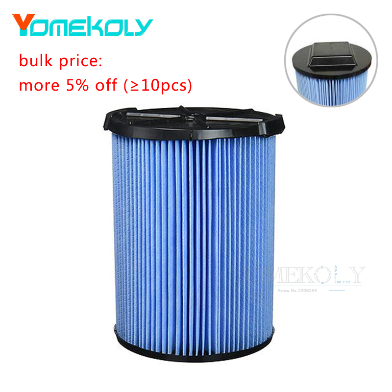 1pc Vacuum Cleaner Replacement Filter For Ridgid VF5000 3 Layer Pleated Paper Vacuum Filter Accessories