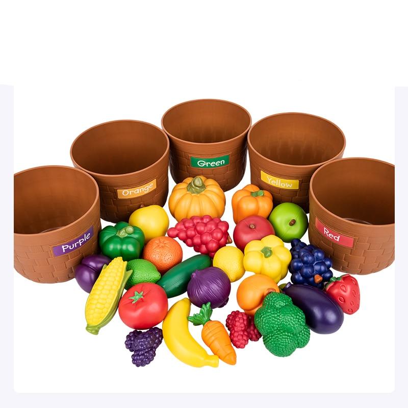 Домашняя игрушка, детский сад, растительный фрукт, модель, моделирование, детское питание, познавательное, раннее образование, головоломка, пластиковые игрушки - 3