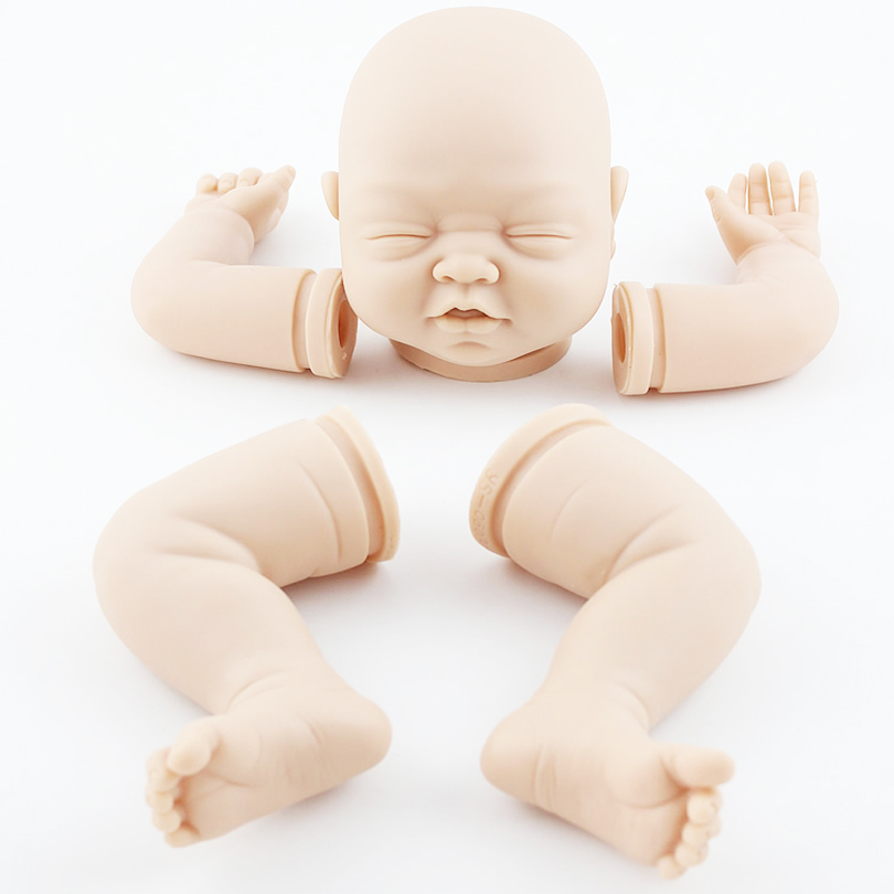 ФОТО diy handmade silicone reborn doll kits high-end mold high-grade reborn imported raw materials exquisite toddler doll accessory
