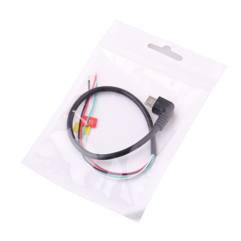 DORLIONA Micro USB to AV Out Cable Cord for Sjcam Sj4000 SJ4000 WiFi Sports Camera FPV