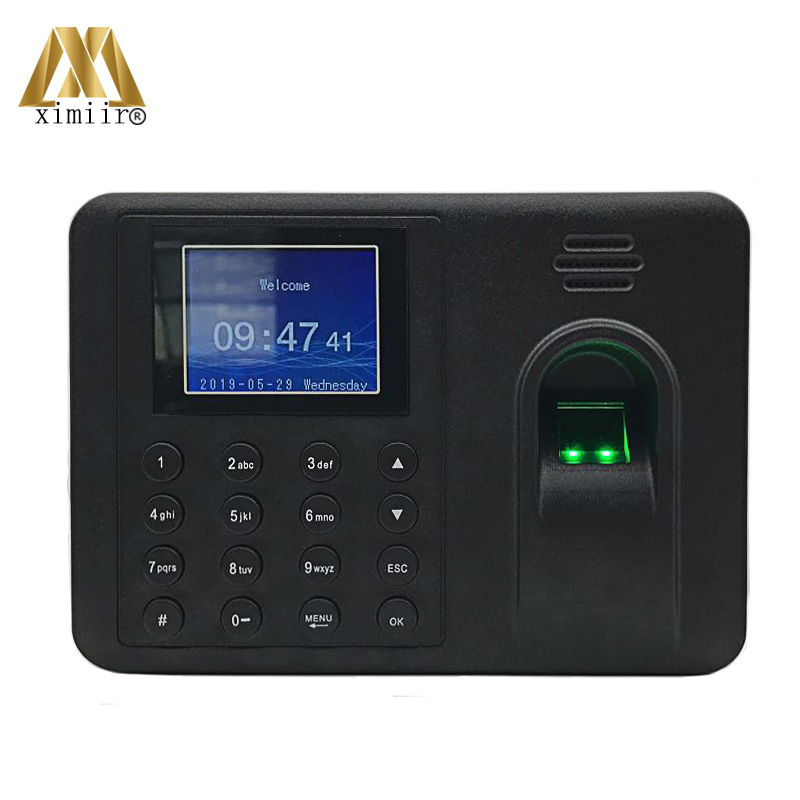 Biometric Time Attendance Machine MK-500 With USB Communication Time Recorder Free Shipping 5pcs/set