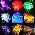 3 M 30 LED de La Batería Operada LLEVÓ Luces de la Secuencia para Navidad Garland Partido Decoración de La Boda de Navidad Flasher Luces de Hadas