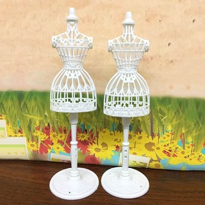 2019 New Doll Accessories Display Holder Dress Clothes Gown Mannequin Model Stand For Doll Girls Play DIY Toy(China)
