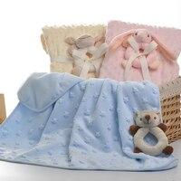 Soft Baby Blanket Newborn Blanket Infant Baby Swaddle Nap Receiving Stroller Wrap Newborn Baby Bedding Blankets BK008