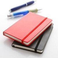 Deli 3314 premium notebook de alta qualidade capa do plutônio bolso bloco de notas diário comercial portátil notebook pequeno planejador