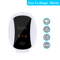 433MHz Wireless High Sensitive Combustible Natural Gas Leakage Detector Alarm Sensor For Home Kitchen Security Alarm