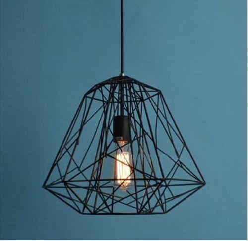 Metal Cage Cover Industrial DIY Metal Lamp Light Pendant